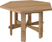 Stickley Hexagon Table3D View