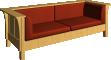 Stickley Sofa3D View