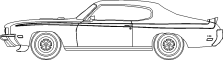 1970 Buick GSX3D View