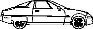 1988 General Motors EV 13D View