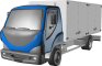 D120 Truck Fridge Lorry3D View