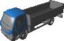 D120 Truck Open Cargo3D View