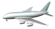 Airbus A3803D View