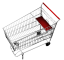 Supermarket trolley3D View