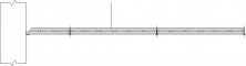 Parafon Hygien Board T24 600x1200x18mmSECTION A