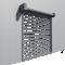 Transparent Murax Security Shutter VisionBack