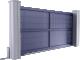 Creation Line - Yvoire Sliding Gate Model3D View