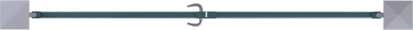 Horizon Line - Seville Swinging Gate ModelOben