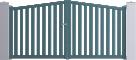 Horizon Line - Seville Swinging Gate ModelVorne