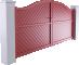 Ligne Intimite Modele Solunto 2 vantaux3D View