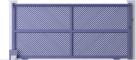 Creation Line - Golhinac Sliding Gate ModelArrière