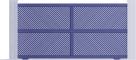 Creation Line - Villefranche Sliding Gate ModelFront