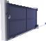Creation Line - Argelès Sliding Gate Model3D View
