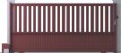 Harmony Line - Capitole Sliding Gate ModelBack