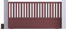 Harmony Line - Capitole Sliding Gate ModelFront