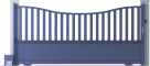Harmony Line - Dupuy Sliding Gate ModelBack