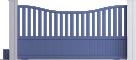 Harmony Line - Dupuy Sliding Gate ModelFront
