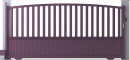 Harmony Line - Héraclès Sliding Gate ModelArrière
