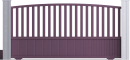 Harmony Line - Héraclès Sliding Gate ModelFace