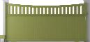 Harmony Line - Ribe Sliding Gate ModelArrière