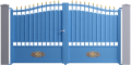 Tradition Line - Lastour Swinging Gate ModelVorne