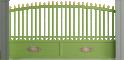 Tradition Line - Gourdon Sliding Gate ModelVorne