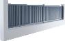 Discrétion Line - Malte Fencing3D View