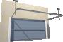 008 Porte basculante SAFIR Intro tole lisse joints creuxBack
