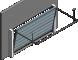 008 Porte basculante SAFIR Intro tole lisse joints creuxLeft