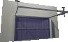 004 Porte basculante SAFIR S400 AeroArrière
