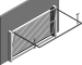 009 Porte basculante SAFIR S400 BaroGauche