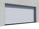 012 Porte basculante SAFIR S400 Iso avec cassettes blanchesFront