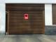 013 Porte basculante SAFIR S400 tole lisses avec vantellesTECHNICAL AXO