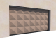 014 Porte basculante SAFIR S400 pointe diamant3D View