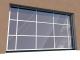 011 Porte basculante SAFIR S400 speciale tablier miroir par exempleFront