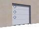 001 Porte sectionnelle ASTEC Serena micro rainuree avec hublots3D View