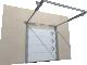 001 Porte sectionnelle ASTEC Serena micro rainuree avec hublotsArrière