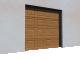 005 Porte sectionnelle ASTEC Serena avec cassettes en chene dore3D View