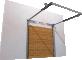 005 Porte sectionnelle ASTEC Serena avec cassettes en chene doreBack