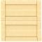METOD Wall Cabinet Horizontal White Veddinge GrayFace