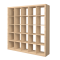 KALLAX Whitened Oak effect Shelf3D View