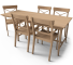 Leksvik Dining Table3D View