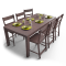 Markor Dining Table3D View
