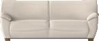 Vreta 3 Seat Sofa Mjuk IvoryVorne