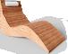 Karlskrona Lounger Chair3D View