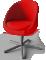 Skruvsta Swivel Chair3D View