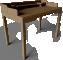 Gustav Desk3D View