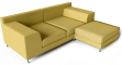 Kramfors Sofa Combination3D View