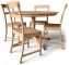 Leksvik Drop Leaf Table and Chairs3D View