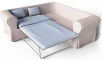 Ektorp 2 Seat Corner Bed Sofa3D View